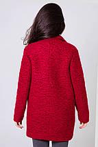Пиджак женский шерстяной демисезонный Бланка тур. ш. темно-красный цвет, фото 3