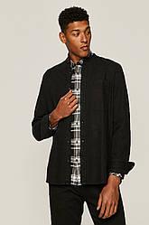 Рубашка мужская чёрная джинсовая Medicine