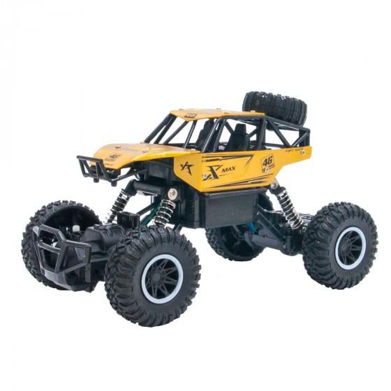 Автомобіль OFF-ROAD CRAWLER на р/у – Rock Sport (золотий) SL-110AG