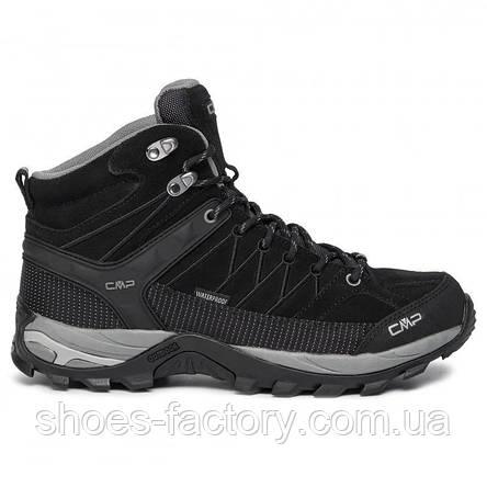 Зимові черевики CMP Rigel Mid Trekking Shoes Wp 3Q12947-73UC (Оригінал) Nero/Grey, фото 2