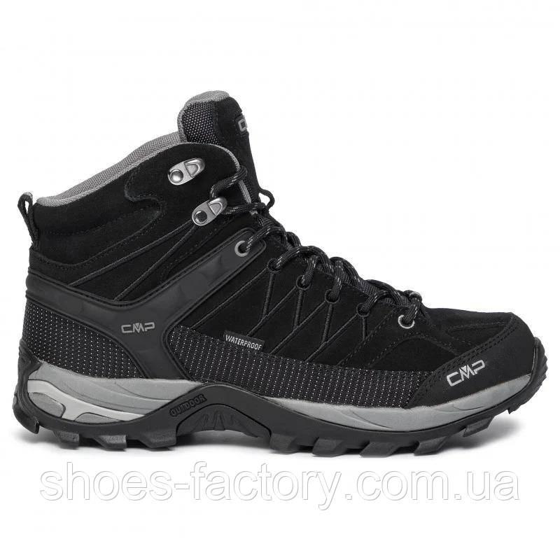 Зимові черевики CMP Rigel Mid Trekking Shoes Wp 3Q12947-73UC (Оригінал) Nero/Grey