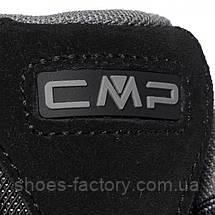 Зимові черевики CMP Rigel Mid Trekking Shoes Wp 3Q12947-73UC (Оригінал) Nero/Grey, фото 3