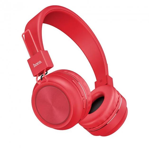 Беспроводные наушники Bluetooth HOCO W25 Promise Красный