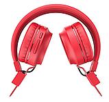 Беспроводные наушники Bluetooth HOCO W25 Promise Красный, фото 2