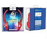 Беспроводные наушники Bluetooth HOCO W25 Promise Красный, фото 3