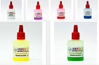 Комплект Флуоресцентных жидких Неоновых УФ красителей для эпоксидной смолы ТМ Просто и Легко, 20г