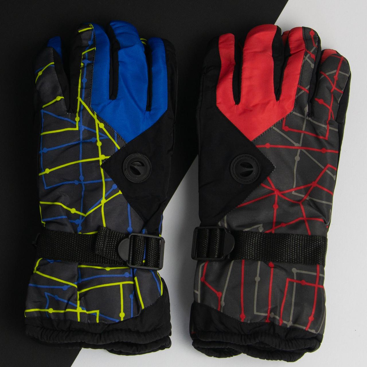 Оптом перчатки мужские лыжные зимние (арт. 20-12-36)