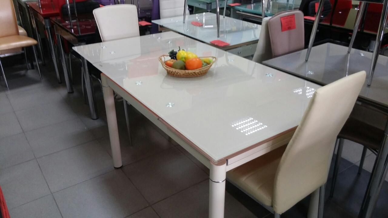 Стол стеклянный  ТВ018