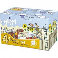 Подгузники для детей HAPPY BELLA BABY maxi plus 9-20 кг 2x62 шт (5900516017347), фото 1