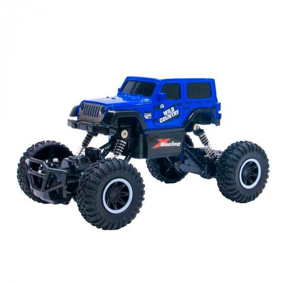 Автомобиль OFF-ROAD CRAWLER на р/у –  Wild Country (синий) SL-106AB