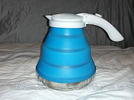 Дорожній чайник силіконовий складаний Silicon Electric Kettle