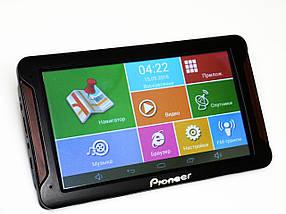 """7"""" Планшет Pioneer 718 - GPS+ 4Ядра+ 8Gb+ Android"""