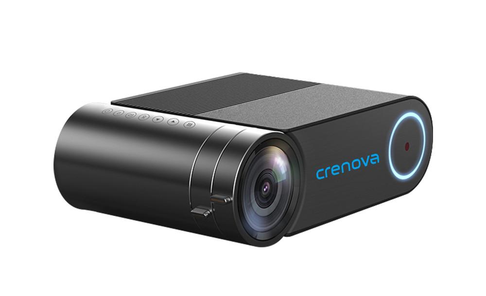 Проектор Crenova YG420 black / Sync display, HD