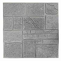 Декоративная 3Д-панель стеновая Камень фасадный 700x700x8мм (самоклеющаяся 3d панель для стен)