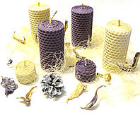 Набор декоративных свечей в подарочной коробке (6 шт.)