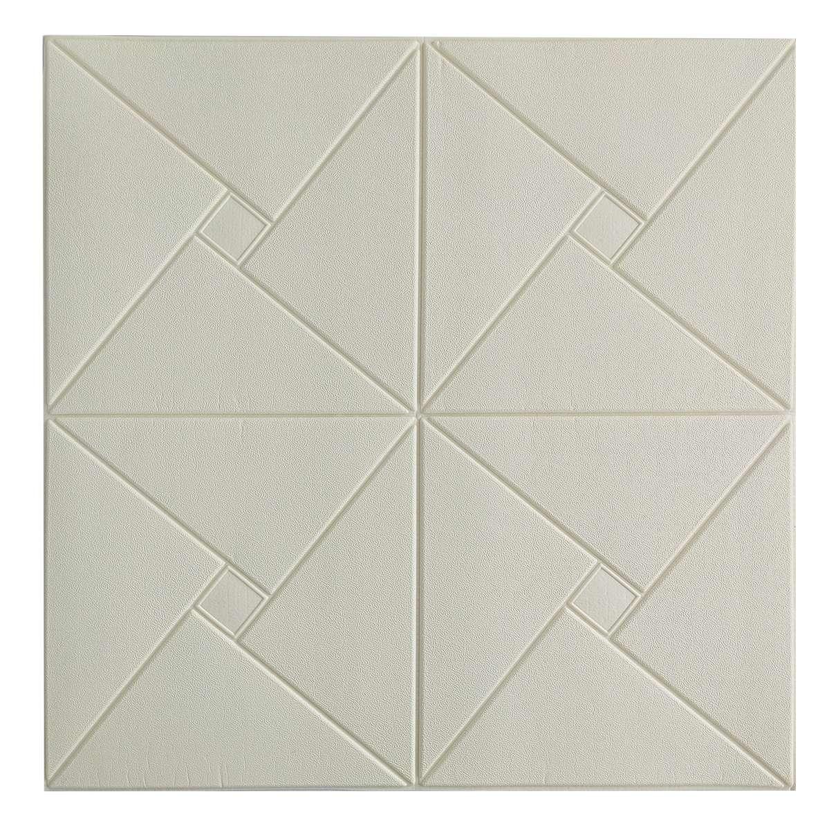 Самоклеющаяся декоративная потолочная 3D панель Пазл №2 700x700x6,5мм