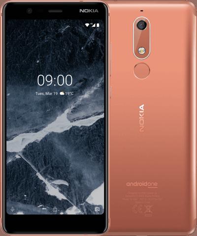 Nokia 5.1 TA-1076 3/32Gb copper
