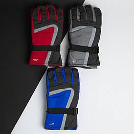 Оптом перчатки мужские лыжные зимние (арт. 20-12-35)