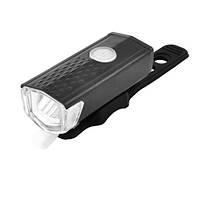 Фонарь велосипедный RPL-2255/BSK-2271-LM, ЗУ micro USB, встроенный аккумулятор, фото 1