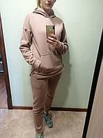 Теплый спортивный костюм женский, фото 1