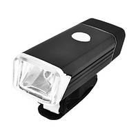 Фонарь велосипедный BST-001/2278-XPE, ЗУ micro USB, встроенный аккумулятор, алюмин, подсветка, фото 1