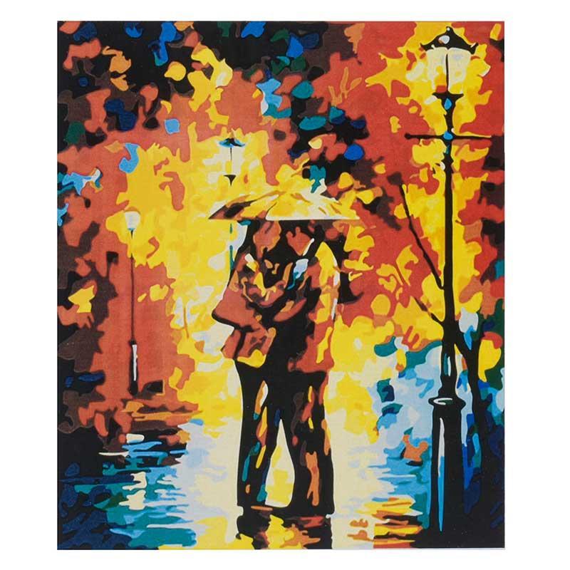 """Картина по номерам """"Осіння любов"""" KTL 0022, 40- 30 см"""