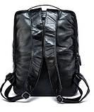 Рюкзак кожаный под ноутбук Vintage 14845 Черный, фото 2