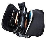 Рюкзак кожаный под ноутбук Vintage 14845 Черный, фото 6