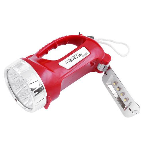 Фонарь переносной Lumen 2804, 7+4LED, ЗУ 220V, встроенный аккумулятор