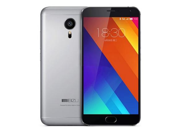 Смартфон Meizu MX5 32 GB Gray Stock A-, фото 2