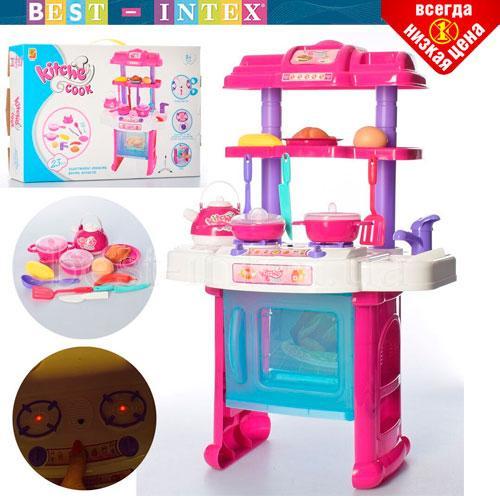 Детская Кухня 3888-7 Розовая