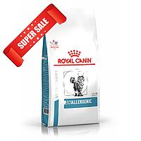 Лечебный сухой корм для кошек Royal Canin Anallergenic Feline 2 кг