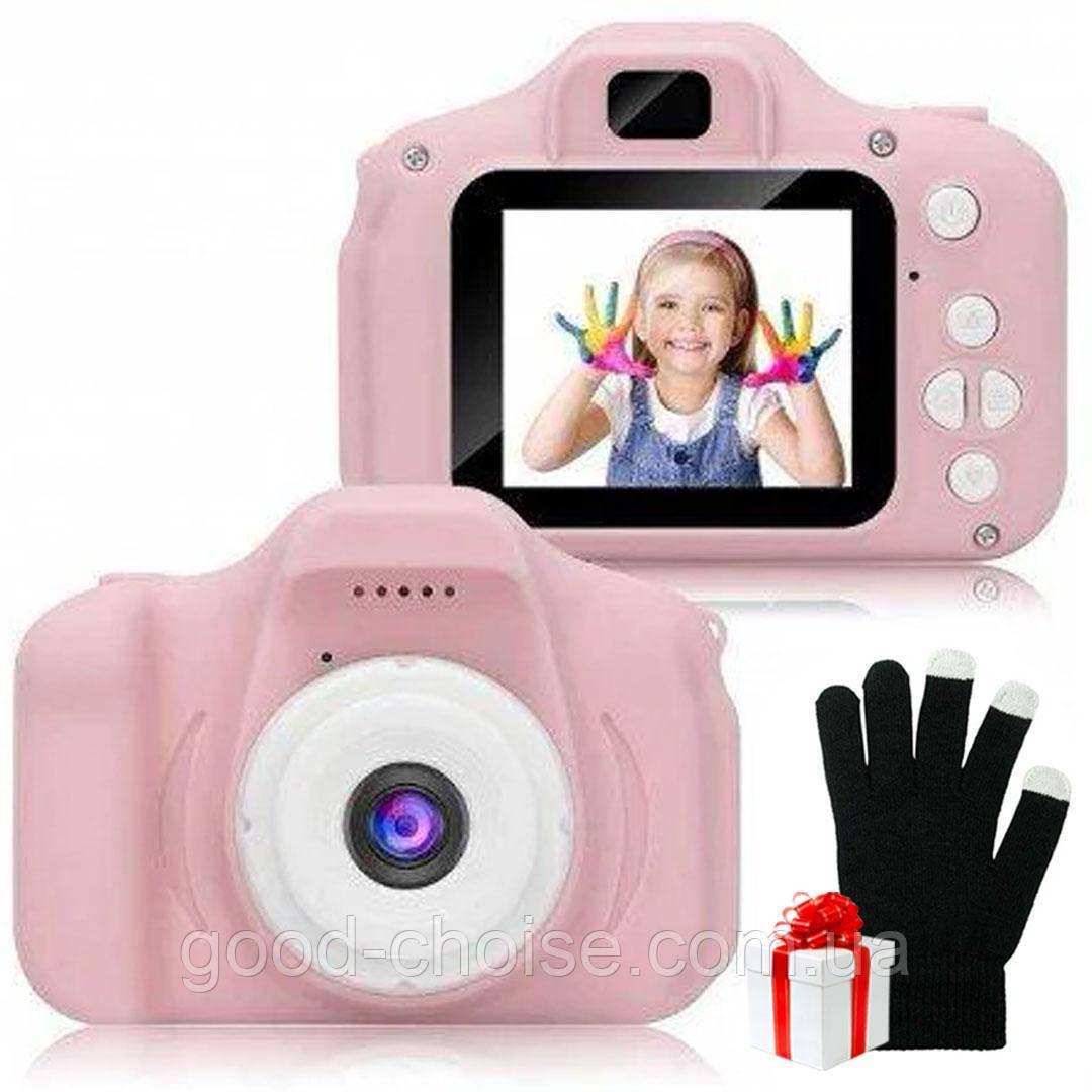 Детская Фотокамера Sonmax c 2.0 + Сенсорные перчатки в Подарок
