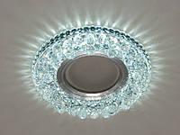 Встраиваемый светильник 8108 с LED подсветкой потолочный точечный, фото 1