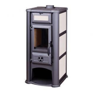 Печь-камин Lederata с керамическими панелями, фото 2