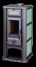 Печь-камин Lederata с керамическими панелями, фото 3