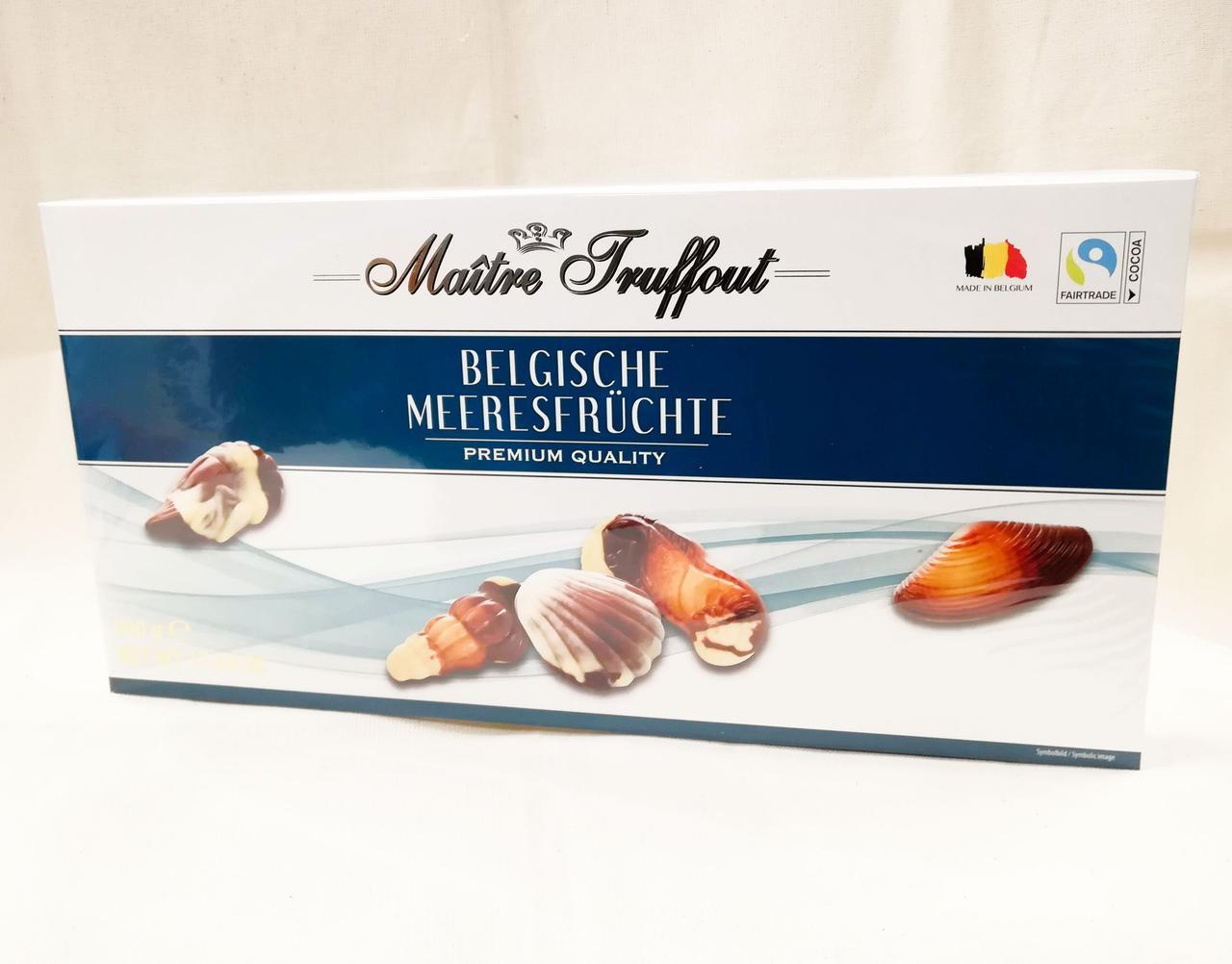 Шоколадные конфеты Maitre Truffout Belgische Meeresfruchte