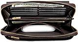 Мужской клатч-барсетка с ремешком на руку Vintage 14655 Коричневый, фото 3