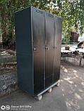 Шкаф для одежды сменной б у, металлический шкаф бу, шкаф б/у, фото 4