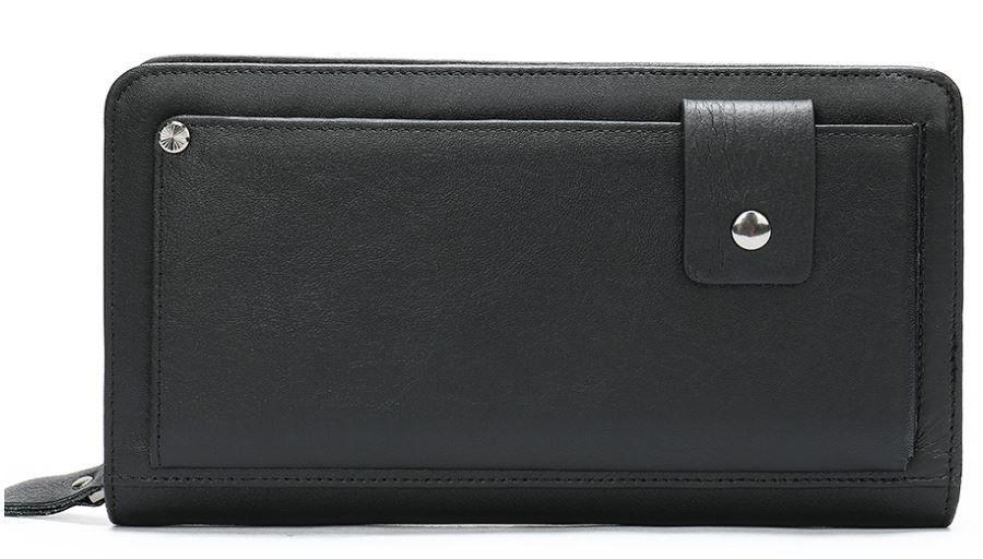 Клатч мужской с ремнем Vintage 14664 Черный