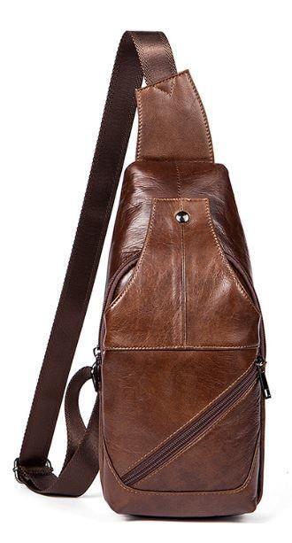 Сумка на плечо мужская Vintage 14783 Коричневая