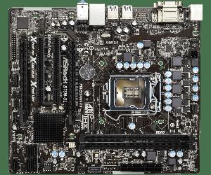 Материнська плата AsRock B75M-GL (s1155, Intel B75, PCI-Ex16) OEM Гарантия 3 месяца.