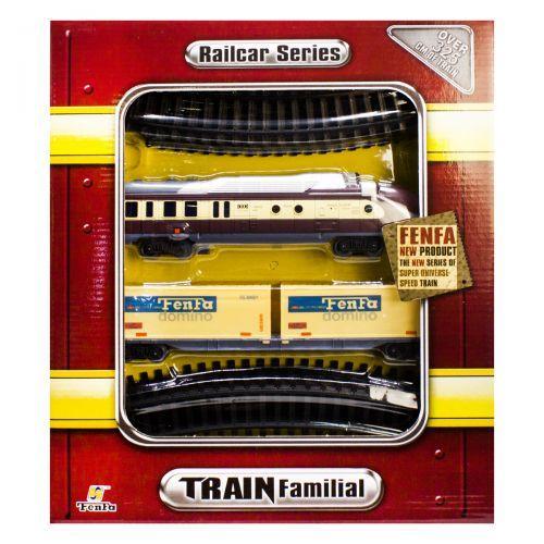 """Железная дорога """"Train Familial"""", контейнер 1601В-5АВС,55"""