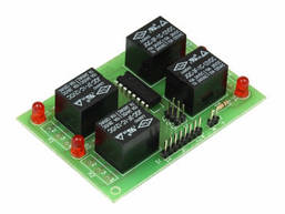 Радиоконструктор K232 (Блок реле 4 шт)