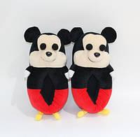 Тапочки-игрушки Микки Маус