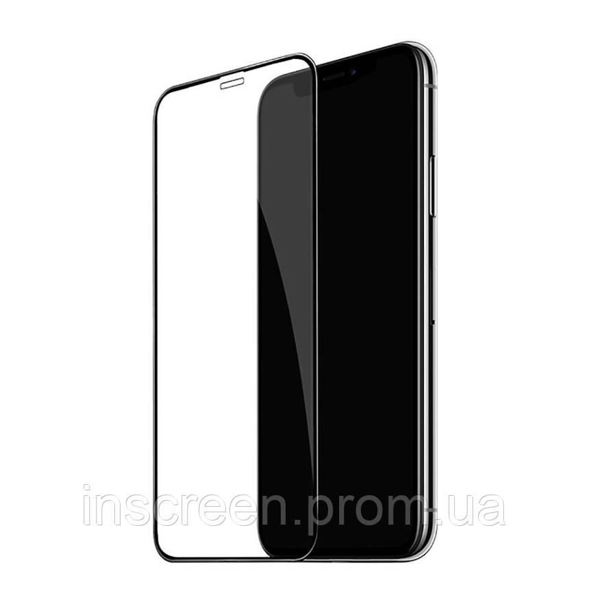 3D Захисне скло для Xiaomi Redmi 9A, Redmi 9C, Poco C3 чорний, фото 2