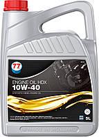 77 ENGINE OIL HDX 10W-40 (кан. 5 л) полусинтетическое моторное масло