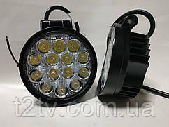 Фары LED WL-206 дальний свет 42W/9-32V/14LEDх3W/3200Lm SP SW