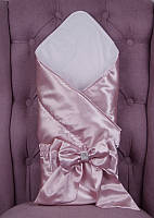 Конверт ангел атлас (розовый) 90*90 Brilliant Baby