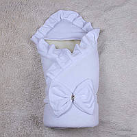 Конверт мария зима (белый) 90х90 Brilliant Baby